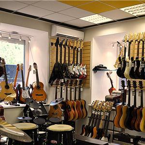Музыкальные магазины Подгорного